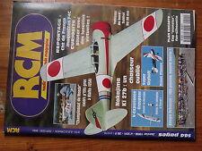 $$6 Revue RCM N°201 PLan encarte Cap monster  Nakajima Ki 27b  Coupe Schluter