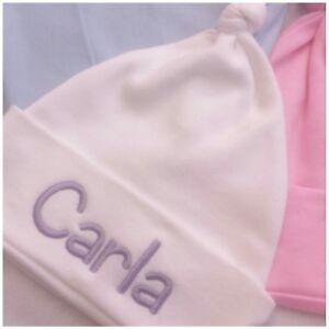 Cappello-Bambino-Personalizzato-Custom-Annodato-Baby-Cappello-Neonato-Cappello-nascita-ragazzo