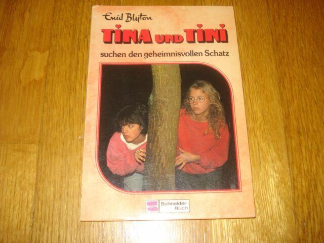 Tina und Tini suchen den geheimnisvollen Schatz Band 1 Enid Blyton