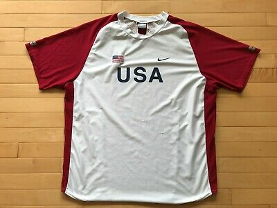 Nike Team USA Track & Field Jersey Kit Shirt Mesh Sz Mens XL Track & Field Rare | eBay