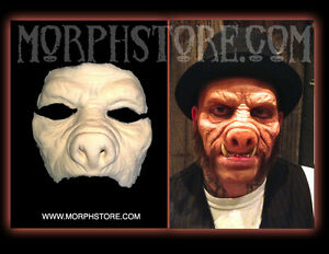 image is loading halloween foam latex pig hogsworth mask lot