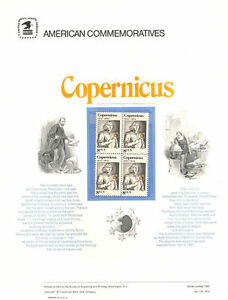 13-8c-Copernicus-Stamp-1488-USPS-Commemorative-Stamp-Panel-in-original-sleeve