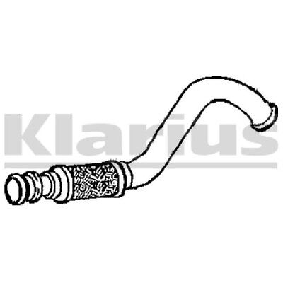 1x KLARIUS OE Quality Replacement Exhaust Pipe Exhaust For PEUGEOT Diesel