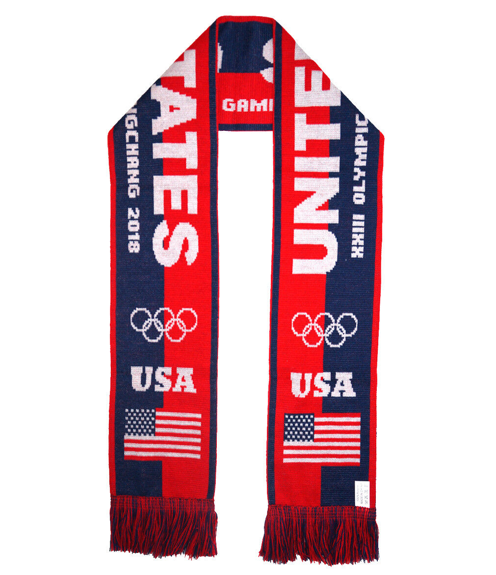 USA 2018 Winter Olympic Games Fans Favorite Scarf  lot of 10