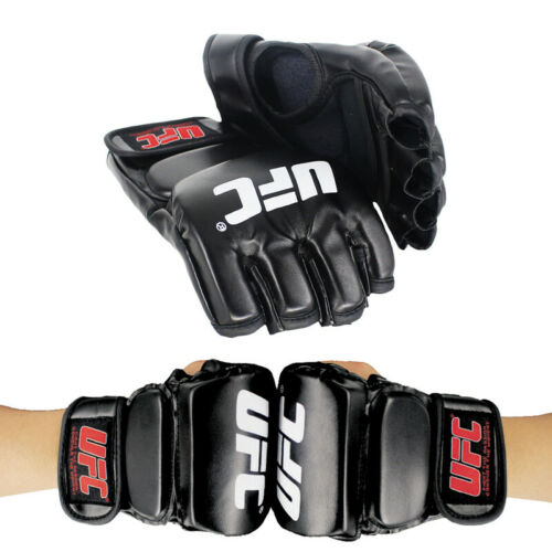 UFC Gloves MMA Fighting Muay Thai Training Sparring Punching Bag Boxing Gloves