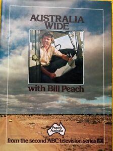 Australia-Wide-with-Bill-Peach-FREE-AU-POST-very-good-used-cond-illust-hardback