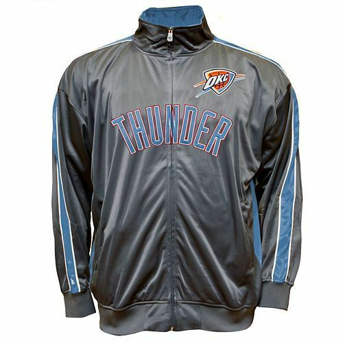 Majestic NBA Oklahoma City Thunder  Mens Track Jacket