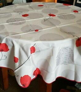 Image Is Loading My Jolie Home 63 Inch Round Tablecloth Poppy