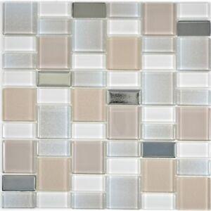 Vetro-mosaico-piastrella-Perl-combinazione-cangiante-Specchio-Piastrelle-Cucina-68-0136p