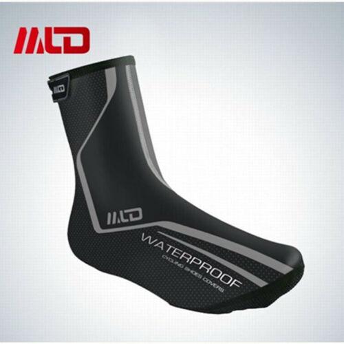 Winter Bike Gaiters Waterproof MTB Overshoes Rain Protection