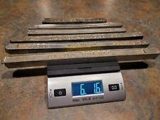 616 Lb Lot Vintage Lead Tin Solder Bars Alpha Vaculoy National Lead Co