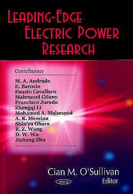 Leading-Edge Electric Power Research, Cian M. O'Sullivan, New Book