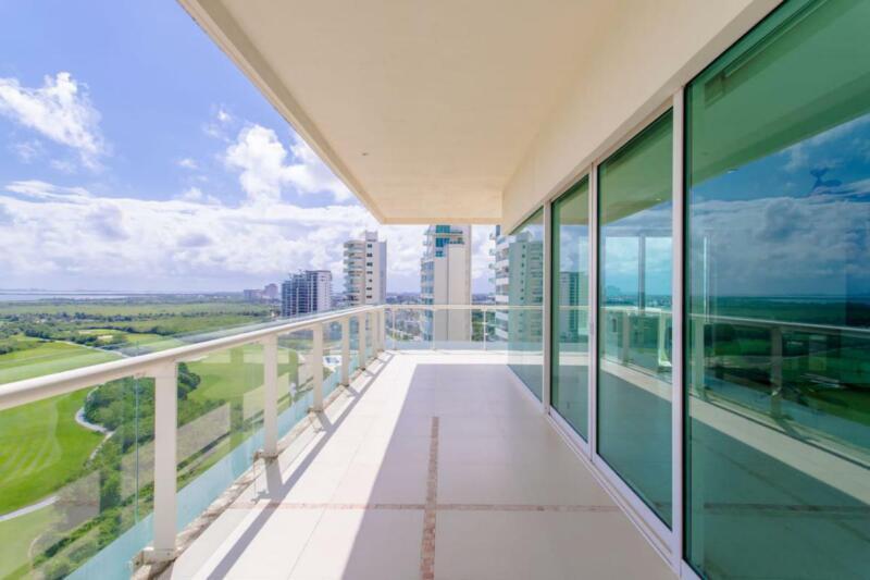 Departamento en Renta en Cancun/Puerto Cancun/Zona hotelera/Cancun Towers