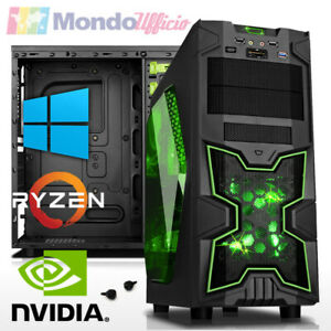 PC GAMING AMD RYZEN 5 2600 - Ram 16 GB - SSD 480 GB - GTX 1050Ti - Windows 10