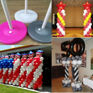 Balloon-Column-Base-Stand-Pipe-Upright-Display-Kit-Wedding-Birthday-Decor-JS