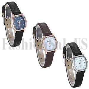 Womens-Luxury-Ultrathin-Square-Dial-Leather-Band-Analog-Quartz-Sport-Wrist-Watch