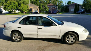 2003 Chevrolet Cavalier , CNG compressed natural gas and gasolin