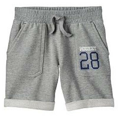 BOYS SIZE 6 MONTHS JUMPING BEANS NAVY BLUE SOFT KNIT CARGO SHORTS NWT NEW #1034