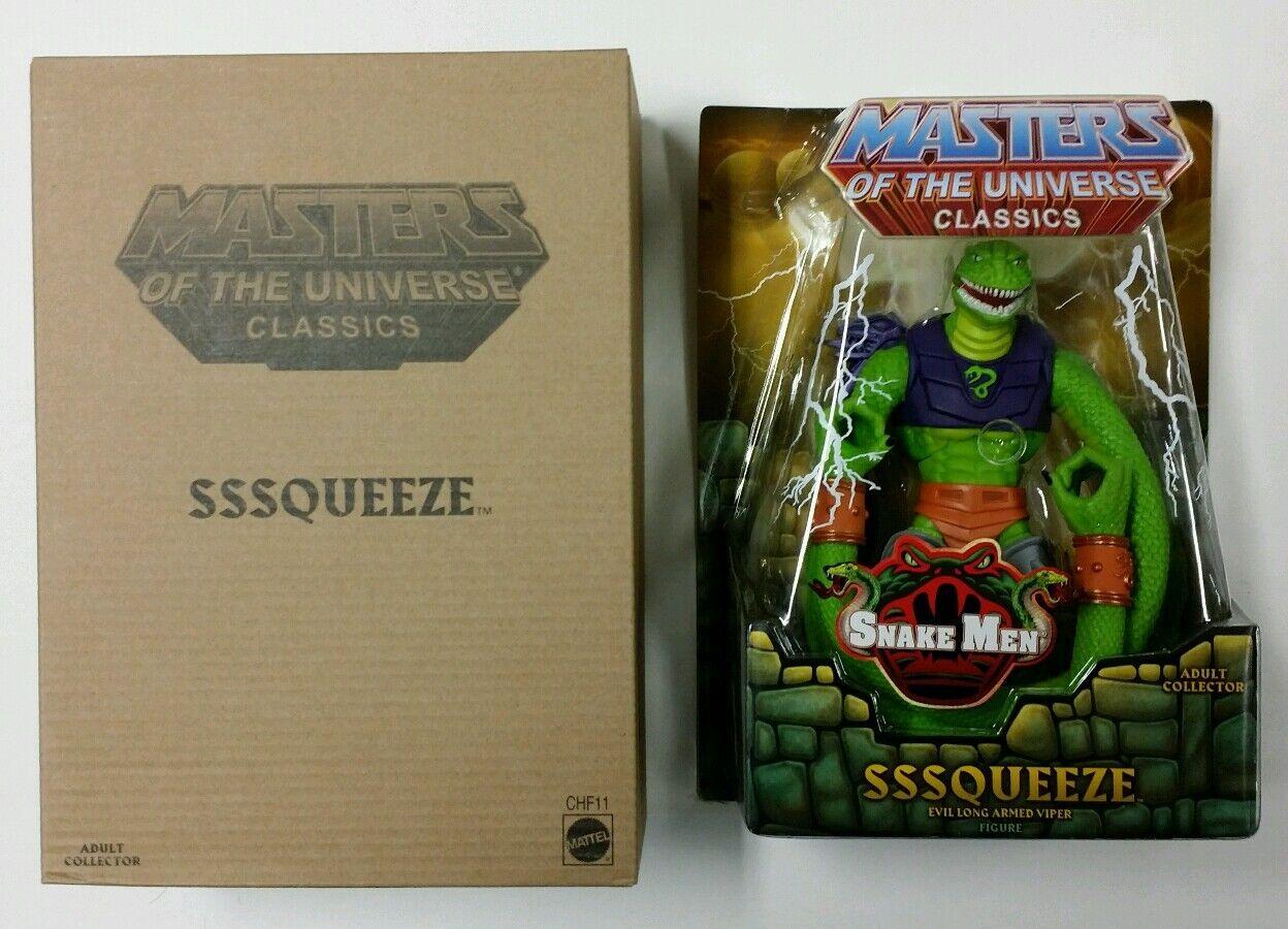 Motu classics Sssqueeze Masters of the Universe MIB