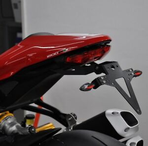 Support-de-plaque-d-039-immatriculation-heckumbau-Ducati-Monster-1200-R-reglable-Tail-Tidy