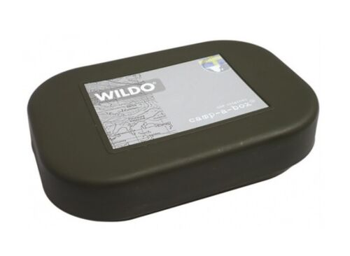 WILDO CAMP A BOX Outdoor Camping Bushcraft Box Teller Deckel Geschirr OLIV