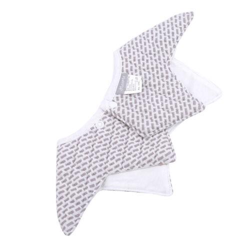 Infant Baby Cute Bibs 360° Rotation Feeding Saliva Towel Dribble Cotton Bib