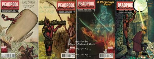 4 Issue Comic SET #1 2 3 4 1st print MARVEL Killistrated DEADPOOL KILLUSTRATED