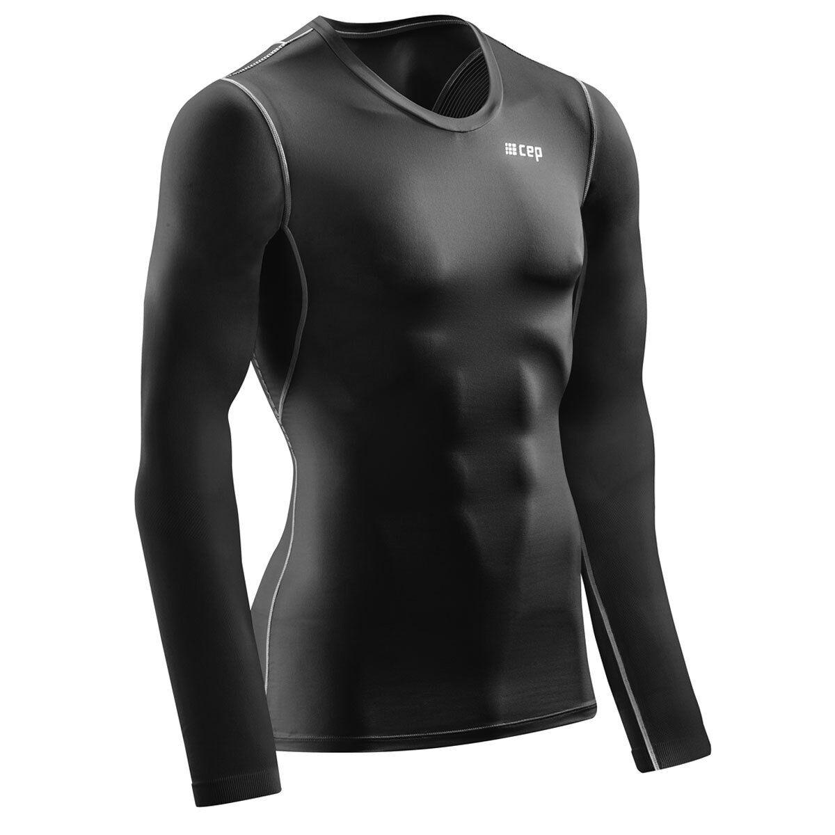 CEP wingtech shirt long sleeve Sie schwarz   W66D56 Bessere Haltung