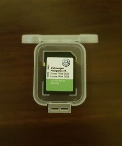 Details about LATEST VW RNS 310 WEST Europe V10 Navigation map SD card  RNS310 2018 SEAT SKODA