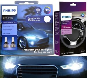 Philips-Ultinon-LED-40W-Canceller-9040-Two-Bulbs-Fog-Light-Replacement-Upgrade