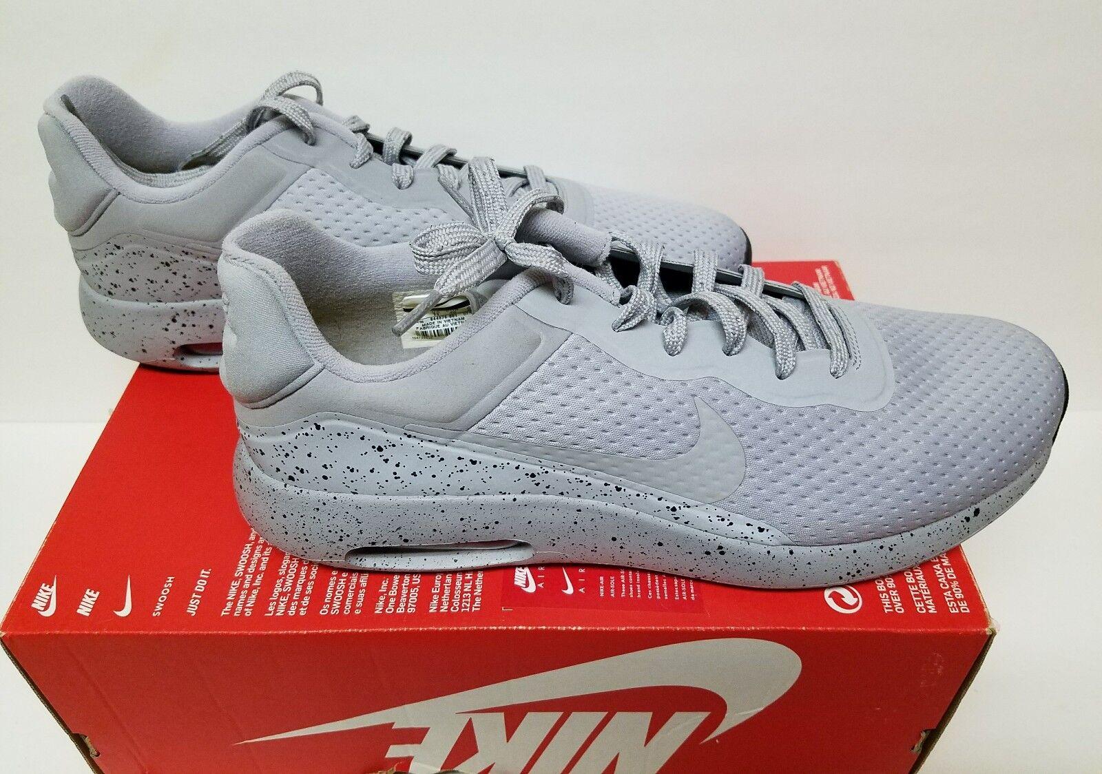Nike taglia air max moderne se taglia Nike 12 scarpe rosa 844876001 riflettente lupo grigio f56412