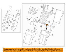 GM OEM Rear Door Hinge Bushings Pack of 4 15995442