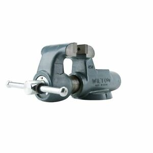 Wilton-600N-6-034-Stationary-Base-Machinist-Bench-Vise-10107-FREE-SHIPPING