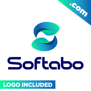 Softabo-com-is-a-cool-brandable-domain-for-sale-Godaddy-PREMIUM-LOGO-Software
