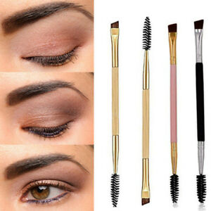 Double-Sided-End-Eyebrow-Eyeliner-Makeup-Wand-Brow-Shaping-Angled-Eyelash-Brush