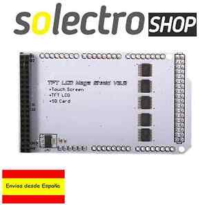 "TFT LCD 3.2"" 4.3"" 5.0 Shield Mega 2560 expansion board SD Adapter Arduino P0158"
