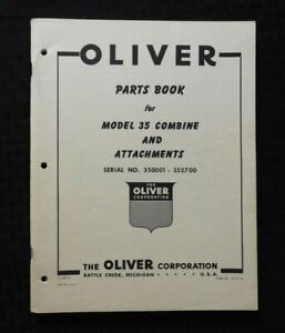 594ms-Oliver-034-Modelo-35-Combinada-034-Partes-Catalogo-Manual-Excelente-Forma