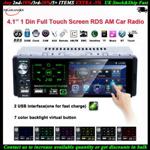 4-1-039-039-1-Din-Autoradio-Plein-ecran-Tactile-2USB-RDS-MP5-Lecteur-AM-FM-Bluetooth-AM