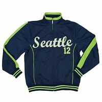 Seattle Football 12 Fan Men's Seattle 12 Track Jacket (run Small)