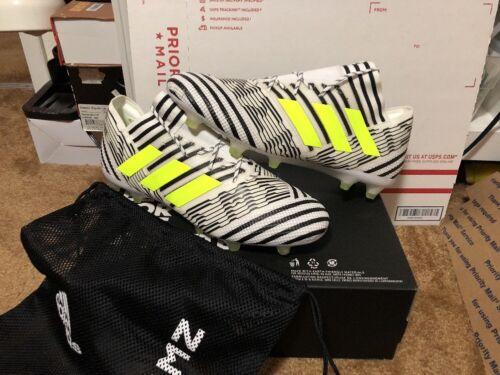 Fußball Größe Weiß 17 Adidas 1 Schwarz Nemeziz 12 Fg wUqIIR0