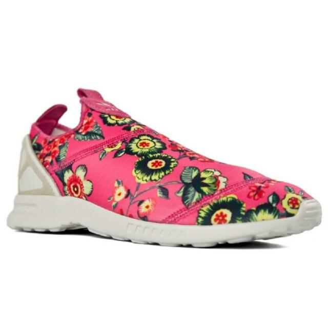 Womens ADIDAS ZX FLUX ADV SMOOTH SLIP ON Trainers S78960