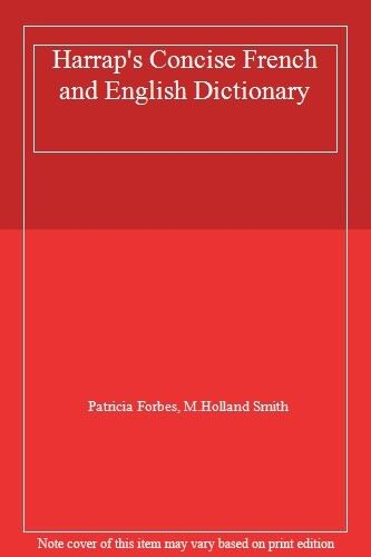 Harrap's Concise French and English Dictionary. 9780245549311