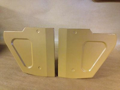 EARLY RANGE ROVER CLASSIC 2 DOOR FOOTWELL KICK PANELS PAIR FIBERGLASS NEW