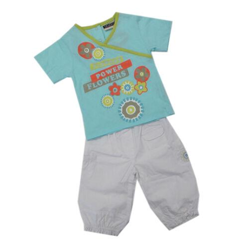 Tricky Tracks Babyanzug 2-teilig T-Shirt Shorts Mädchen Gr 80 68 86 Neu!!
