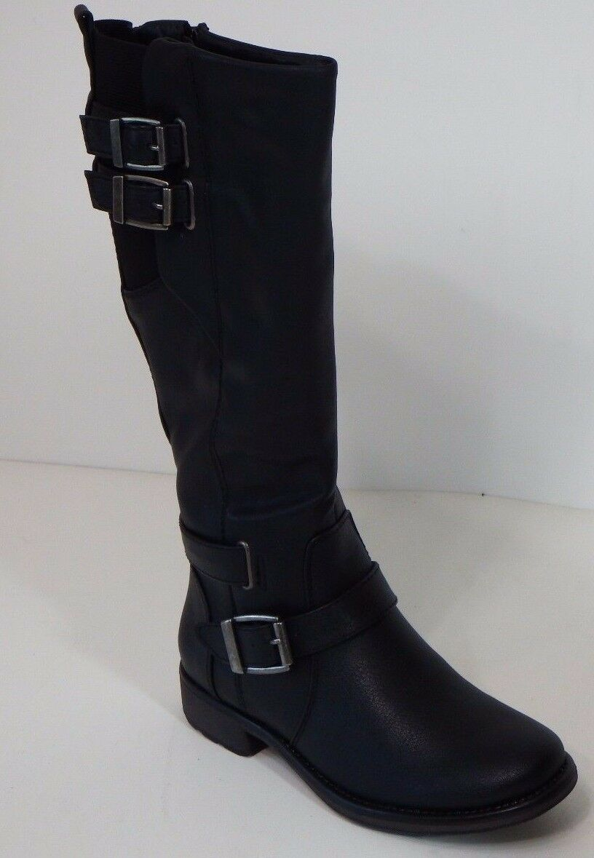 Womens Shoes Baretraps  Black Size 6M Below Knee Length Straps Zipper