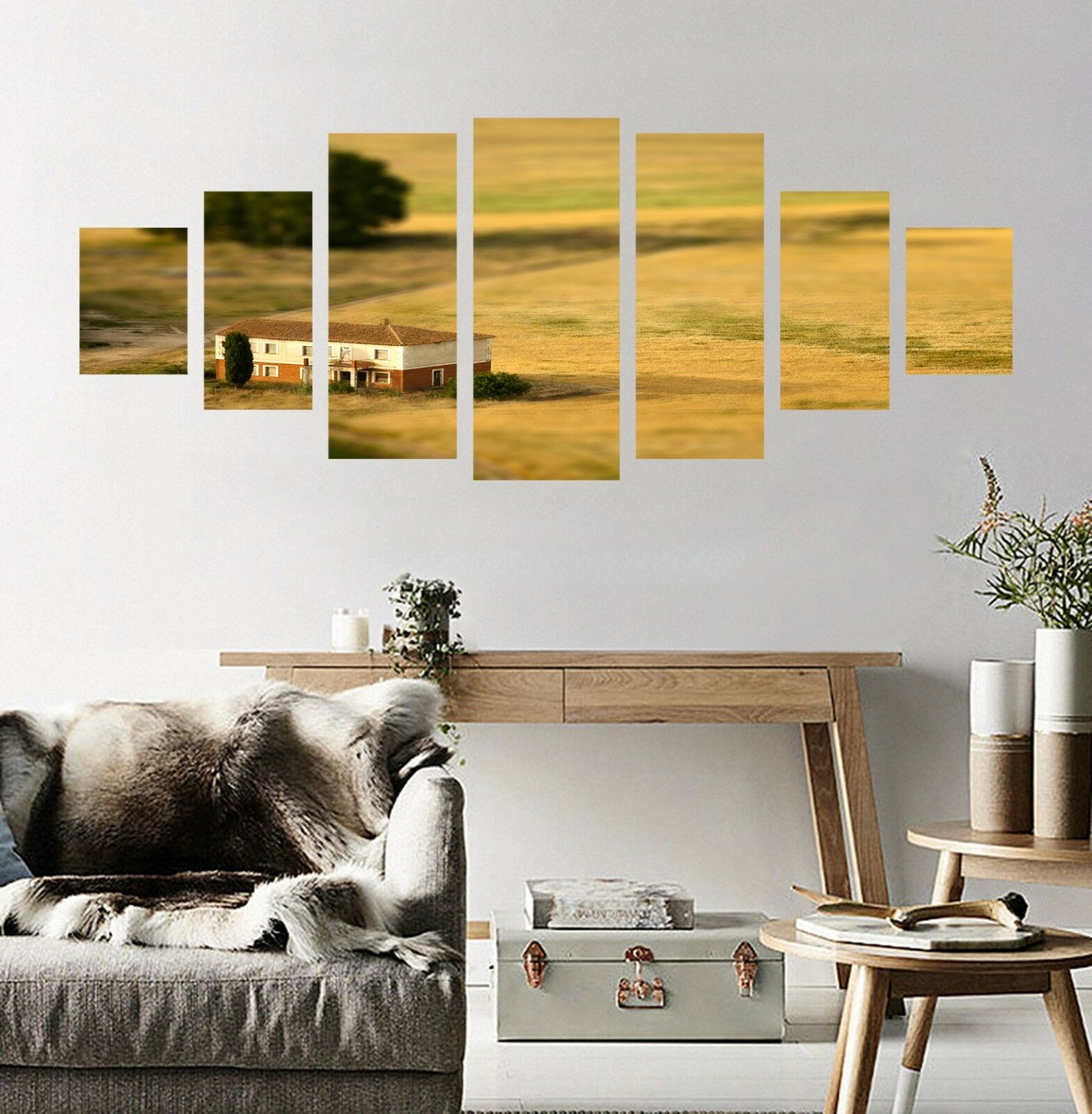 3D House Prairie 82 Unframed Print Wall Paper Decal Wall Deco Indoor AJ Jenny