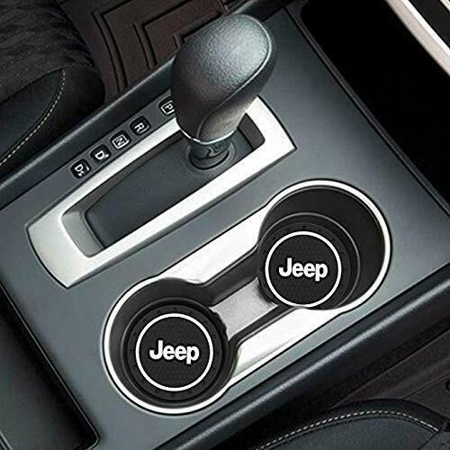 COASTER 2PC 2.75/'/' SILICONE CAR CUP HOLDER AUTO INSERT FOR JEEP US SELLER