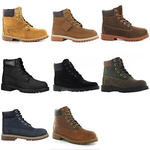 258287a89c4 Details about Timberland Classic 6 inch Premium Waterproof Big Kids Youth  Leather Boots
