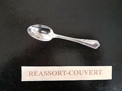 Antiques Decorative Arts Nice Small Spoon Cafe Sfam Contours 5 1/2in Silvered Metal 0703 17 We Take Customers As Our Gods