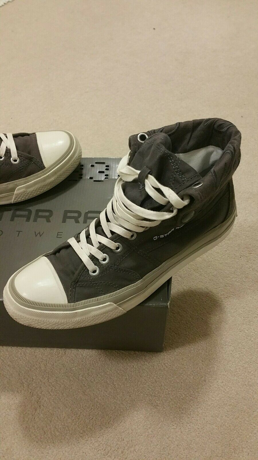 G STAR Converse Chaussures Seale II Gris